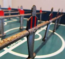 Antique Foosball by SlenkDee