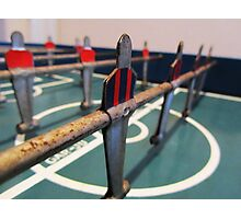 Antique Foosball Photographic Print