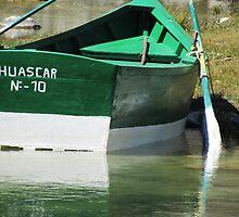A Rowboat In Huaraz by SlenkDee