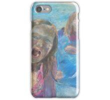 Girls Splashing in the Pool iPhone Case/Skin