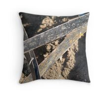Straps in a skip Throw Pillow