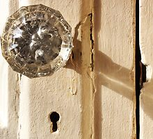 Glass Doorknob by marybedy