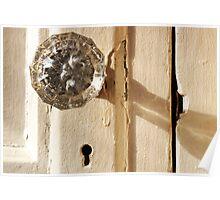 Glass Doorknob Poster