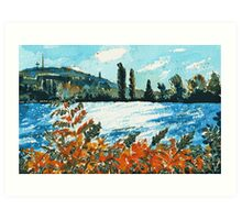 Late Summer Afternoon Art Print