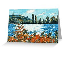 Late Summer Afternoon Greeting Card
