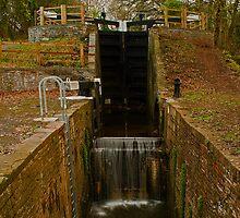 Canal Lock by Ciaran Sidwell