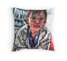 Meena Subba 4 Throw Pillow