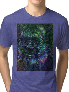 Terence McKenna Tribute Poster Tri-blend T-Shirt