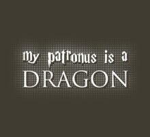 My Patronus is a Dragon by trekvix