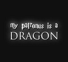My Patronus is a Dragon One Piece - Long Sleeve