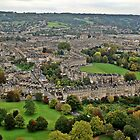 Bath from the Air.. by Lauren Tucker