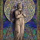 Celtic Mandala Angel #1 by LaRoach