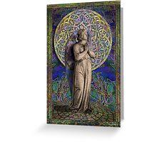 Celtic Mandala Angel #1 Greeting Card