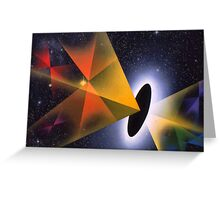 'Corners in Time' (Hyperdrive) Greeting Card