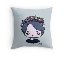 Leo chibi Throw Pillow