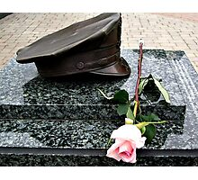 A Rose To Remember ~ 9-11 Memorial Photographic Print
