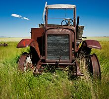 Old International Farm Truck by Miles Glynn
