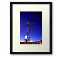 Please Do Not Shoot Windmill Framed Print