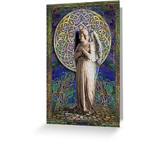 Celtic Mandala Angel #2 Greeting Card