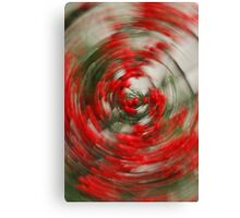 Holly Jolly Spin Cycle Canvas Print