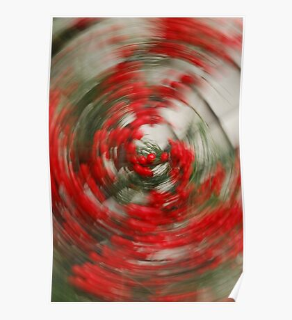 Holly Jolly Spin Cycle Poster