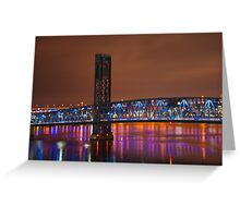 Jax Blue bridge  Greeting Card
