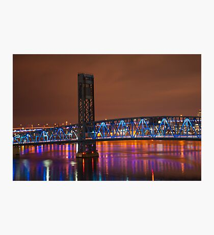 Jax Blue bridge  Photographic Print