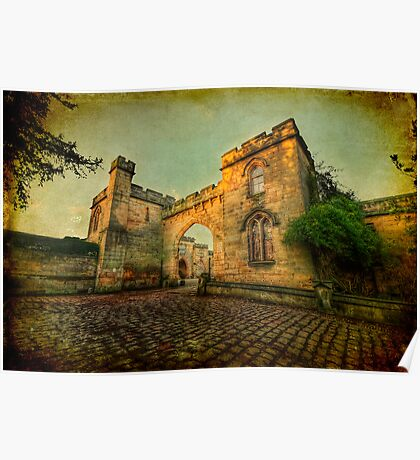 Elvaston Castle Poster