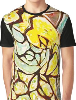 Stained Glass Abstract Graphic T-Shirt