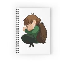 Sleepy Hiccup Spiral Notebook