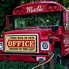 This Red Bus/ Office by Billlee