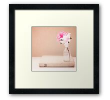 in my life. Framed Print