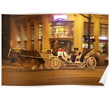 Horse and Buggy Ride Poster