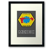 Medical Frigate Redemption - Star Wars Veteran Series Framed Print