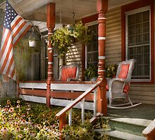 House - Porch - Traditional American by Mike  Savad