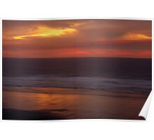 Sunset, Oregon Coast Poster