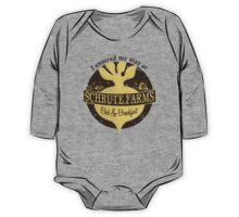 I enjoyed my stay at Schrute Farms (Brown) One Piece - Long Sleeve