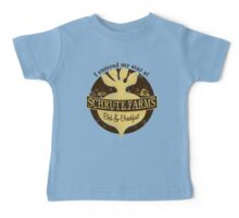 I enjoyed my stay at Schrute Farms (Brown) Baby Tee