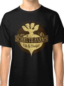 I enjoyed my stay at Schrute Farms (Brown) Classic T-Shirt