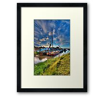 The Boatyard Framed Print