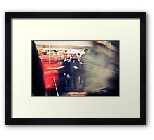 Lomography Movement Framed Print