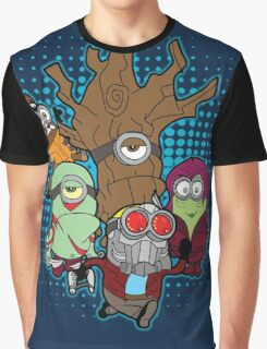 Galaxy Minions Graphic T-Shirt