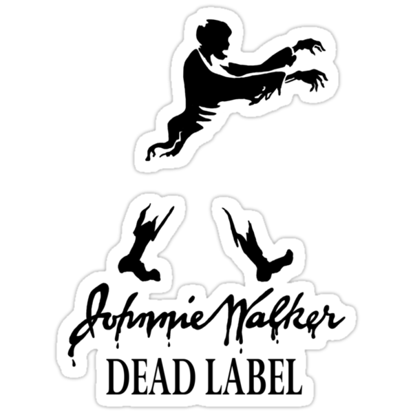 Johnnie Walker Dead by Karen  Hallion
