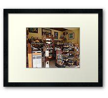Vanilla Store - Tienda De Vainilla Framed Print