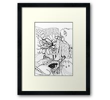 Everything is Connected- by Nadine Staaf Art Framed Print