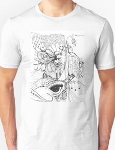 Everything is Connected- by Nadine Staaf Art Unisex T-Shirt
