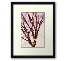 tell me what you see. Framed Print