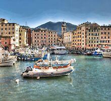 Camogli Port by oreundici