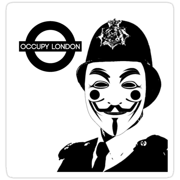 OCCUPY LONDON by GraphicMonkey