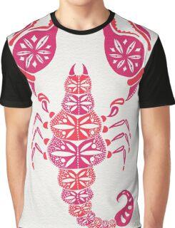 Pink Scorpion Graphic T-Shirt
